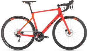 Bicykel Cube Agree C:62 Race Disc red 2019