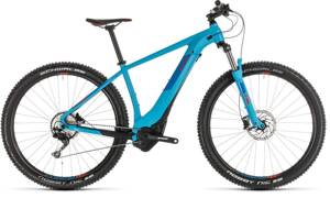 Elektro bicykel Cube Reaction Hybrid EXC 500 blue 2019