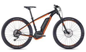 Elektro bicykel Ghost Hyb Teru B2.7 Lady black 2018