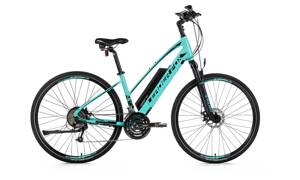 Elektro bicykel Leader Fox Venosa Lady cyan 2019