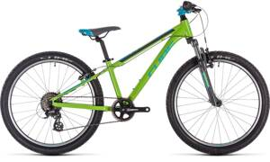Bicykel Cube Acid 240 green-blue 2021