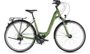 Bicykel Cube Touring Easy Entry green 2019
