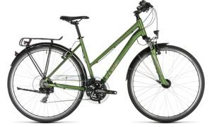 Bicykel Cube Touring trapeze green 2019
