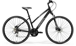 Bicykel Merida Crossway 20-D Lady black 2018