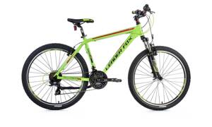 Bicykel Leader Fox MXC green 2018