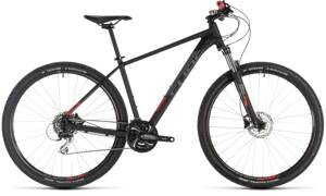 Bicykel Cube Aim Race 29 black 2019