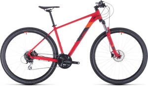 Bicykel Cube Aim Race 27,5 red 2020