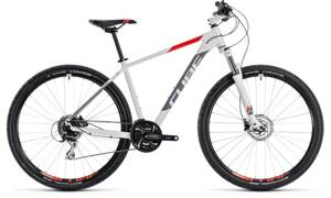 Bicykel Cube Aim Race 29 white 2018