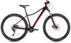 Bicykel Cube Access WS Race aubergine 2019